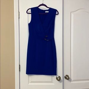 Calvin Klein blue dress size 8